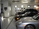 Oversized 3 Car Garage with Storage Closets